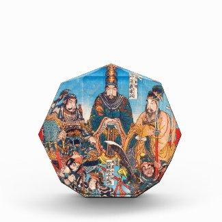 Utagawa Kuniyoshi Legendary Suikoden heroes Awards
