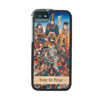 Utagawa Kuniyoshi Legendary Suikoden heroes iPhone 5 Case