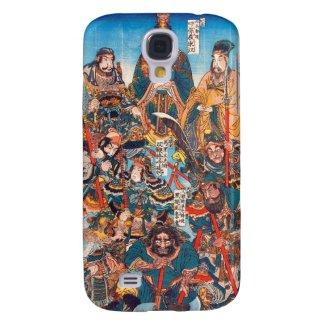 Utagawa Kuniyoshi Legendary Suikoden heroes Samsung Galaxy S4 Case