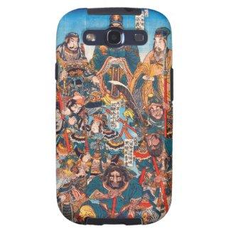 Utagawa Kuniyoshi Legendary Suikoden heroes Galaxy S3 Cases