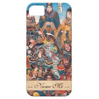 Utagawa Kuniyoshi Legendary Suikoden heroes iPhone 5/5S Cover