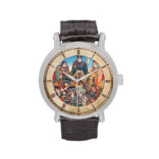 Utagawa Kuniyoshi Legendary Suikoden heroes Wrist Watch