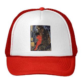 Utagawa Kuniyoshi: Sakata Kintoki struggling Trucker Hat