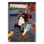 Utagawa Kuniyoshi Woman (12) Cards
