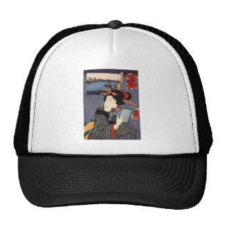 Utagawa Kuniyoshi Woman (12) Trucker Hat