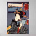 Utagawa Kuniyoshi Woman (12) Print