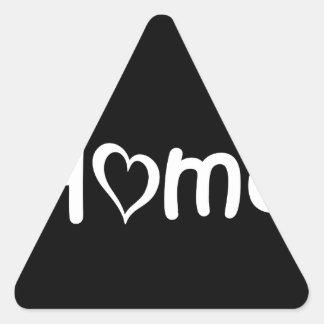 Utah3 Triangle Sticker