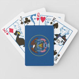 Utah 1896 State Flag Playing Cards