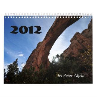 Utah 2012, by Peter Alfeld Wall Calendars