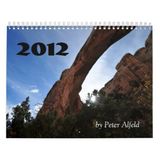 Utah 2012, por Peter Alfeld Calendarios De Pared