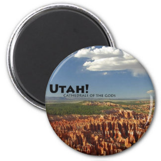 Utah 2 Inch Round Magnet