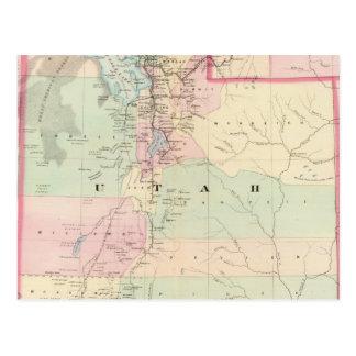 Utah 3 tarjetas postales