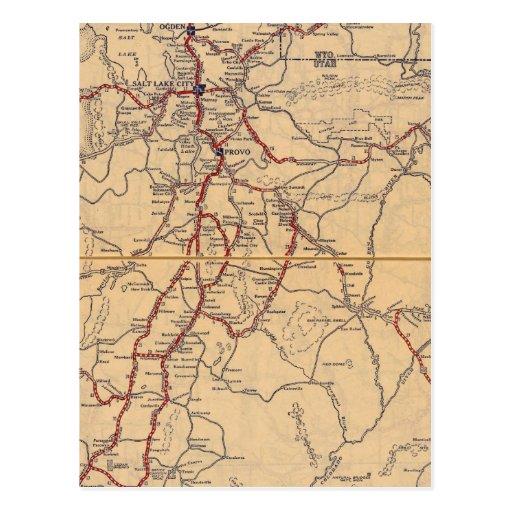 Utah 8 post cards