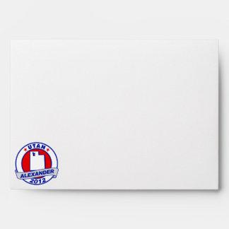Utah Alexander Envelopes
