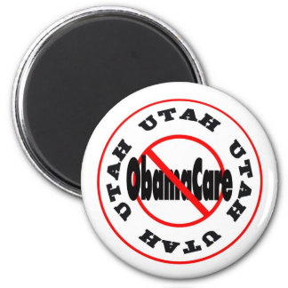 Utah Anti ObamaCare – November's Coming! 2 Inch Round Magnet