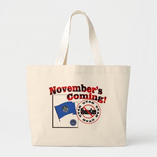 Utah Anti ObamaCare – November's Coming! Bags
