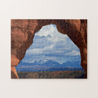 Utah, Arches National Park, Delicate Arch Jigsaw Puzzle