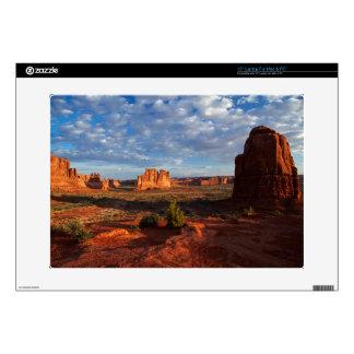 "Utah, Arches National Park, rock formations 1 15"" Laptop Skins"