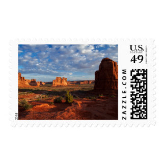Utah, Arches National Park, rock formations 1 Postage Stamp