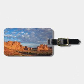 Utah, Arches National Park, rock formations 2 Bag Tag