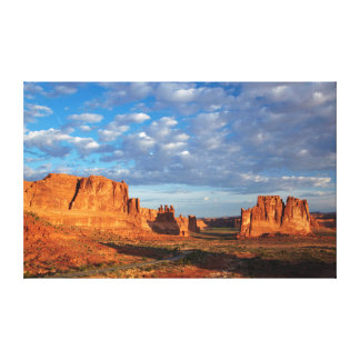 Utah, Arches National Park, rock formations 2 Canvas Print