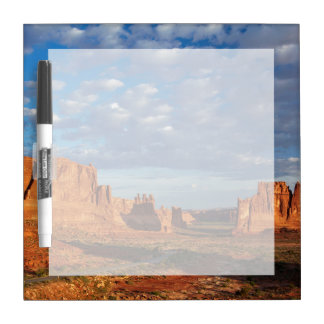 Utah, Arches National Park, rock formations 2 Dry Erase Board