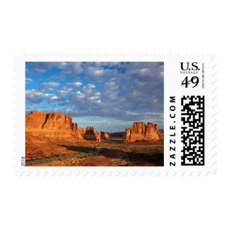 Utah, Arches National Park, rock formations 2 Postage