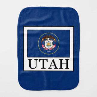 Utah Baby Burp Cloth