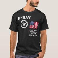 Utah Beach, Normandy, France, June 6, 1944 T-Shirt