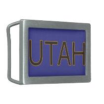 Utah Belt Buckle