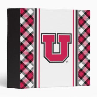Utah Block U Binder
