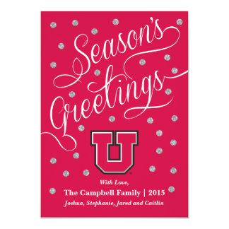 Utah Block U Card