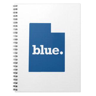 UTAH BLUE STATE SPIRAL NOTEBOOK
