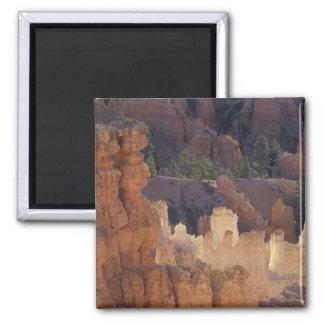 Utah, Bryce Canyon National Park. Hoodoos, 2 Inch Square Magnet