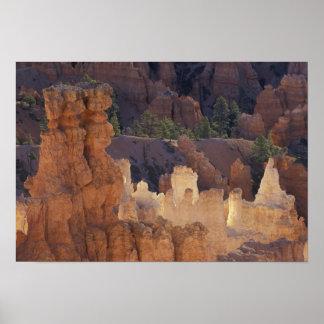 Utah, Bryce Canyon National Park. Hoodoos, Poster