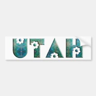 Utah Car Bumper Sticker