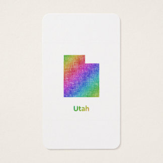 Utah Business Card