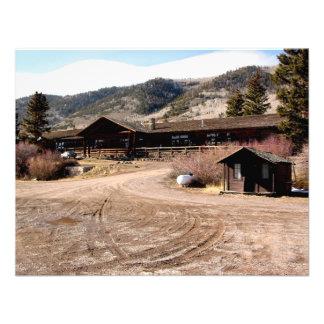 Utah Cabin Custom Invitation
