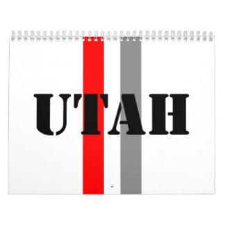Utah Calendarios De Pared