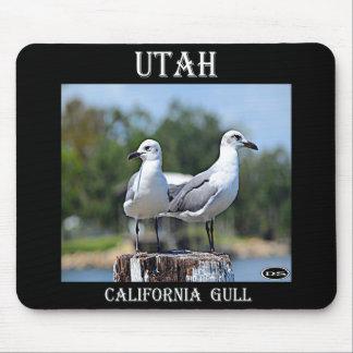 Utah California Gull Mouse Pad