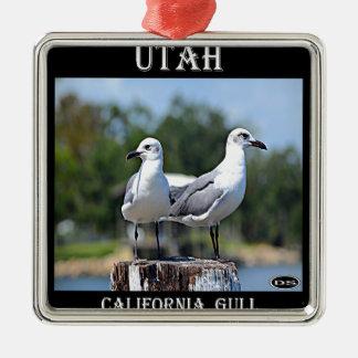 Utah California Gull Ornaments