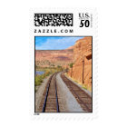 Utah Canyon Train Track Postage