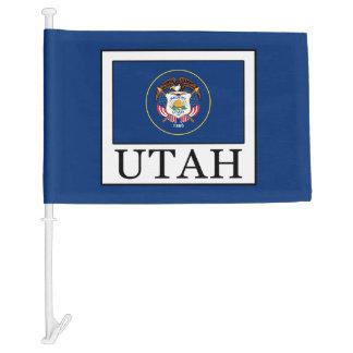 Utah Car Flag