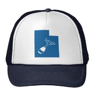 Utah Champagne Powder Trucker Hat