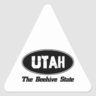 utah citiy DESIGNS Triangle Sticker