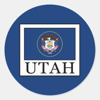 Utah Classic Round Sticker
