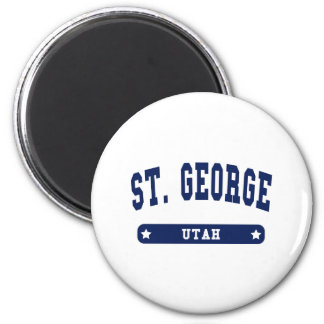 Utah College Style tee shirts 2 Inch Round Magnet