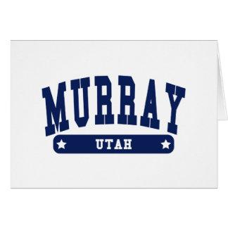 Utah College Style tee shirts Greeting Cards
