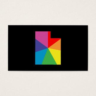 utah color burst business card