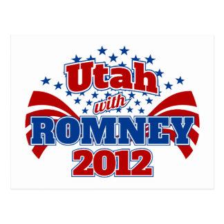 Utah con Romney 2012 Postal